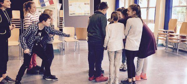 Vive la France im rollenden Klassenzimmer